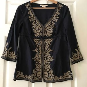 MK Embroidered Tunic